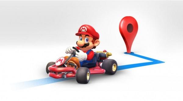 瑪利歐賽車入侵Google地圖! 讓水管工大叔幫你導航